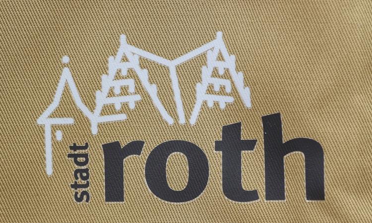 Transferdruck-Roth-Roth